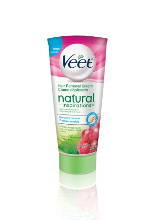 Veet Natural Inspirations Hair Removal Cream Sensitive Formula
