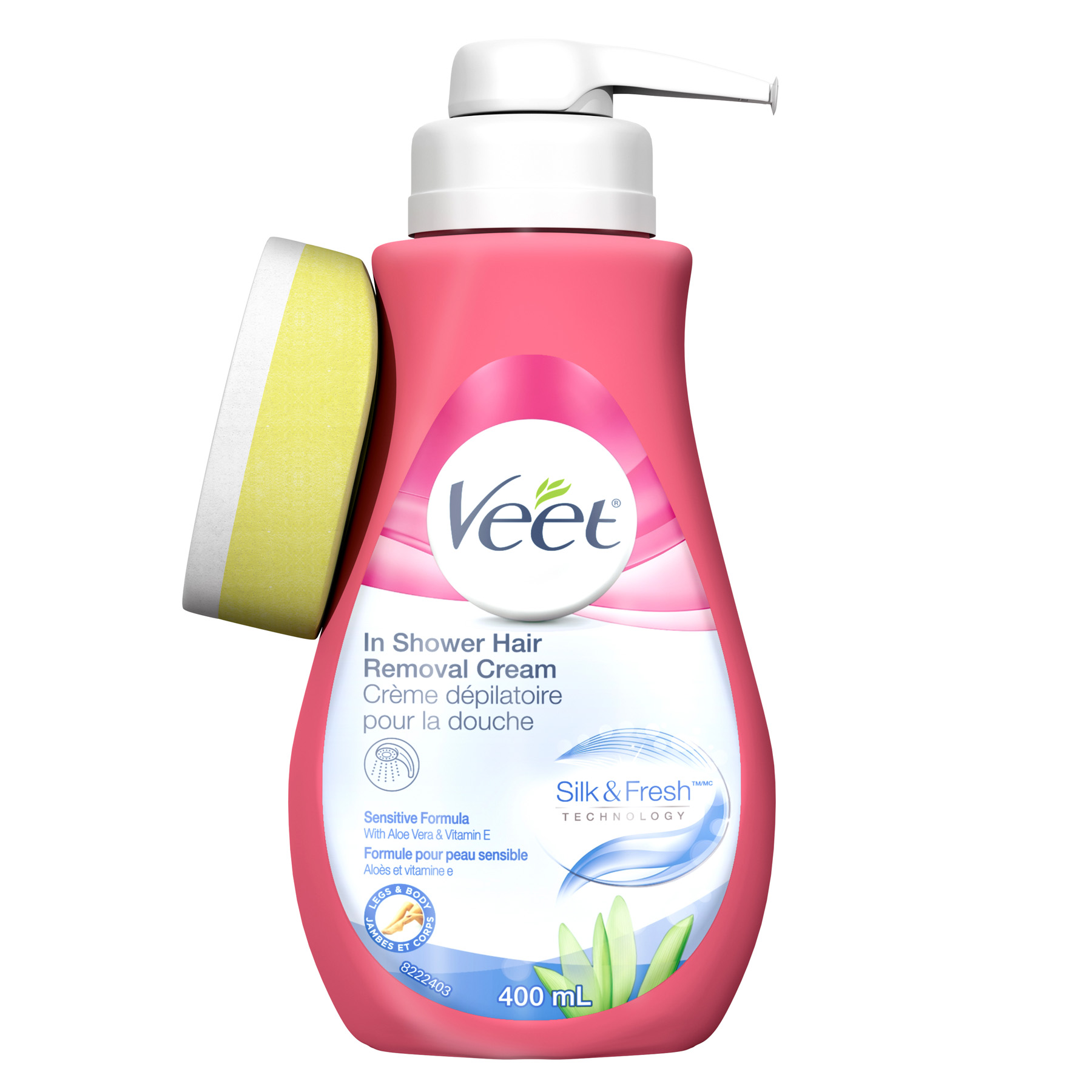 Veet Silk Fresh In Shower Hair Removal Cream Sensitive