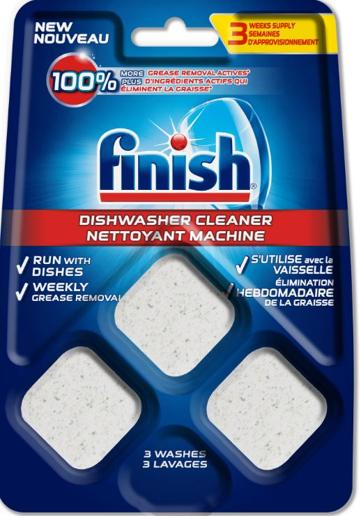 Finish Dishwasher Cleaner Tablets Canada